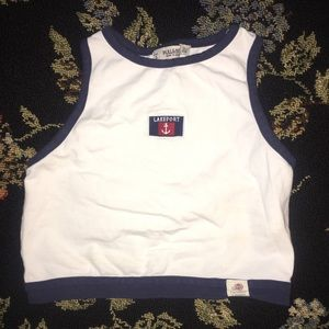 Pull & Bear Cropped Tank Top Small